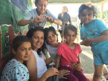 Hilfe für die Kinder in Idomeni